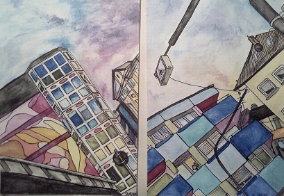 Von Realität bis Fantasie – Ausstellung einer jungen Künstlerin.